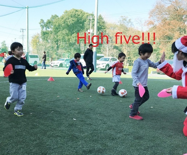 Let's play soccer with English!